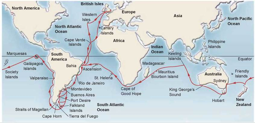Darwin S Voyage On Hms Beagle Evolution And Natural Selection