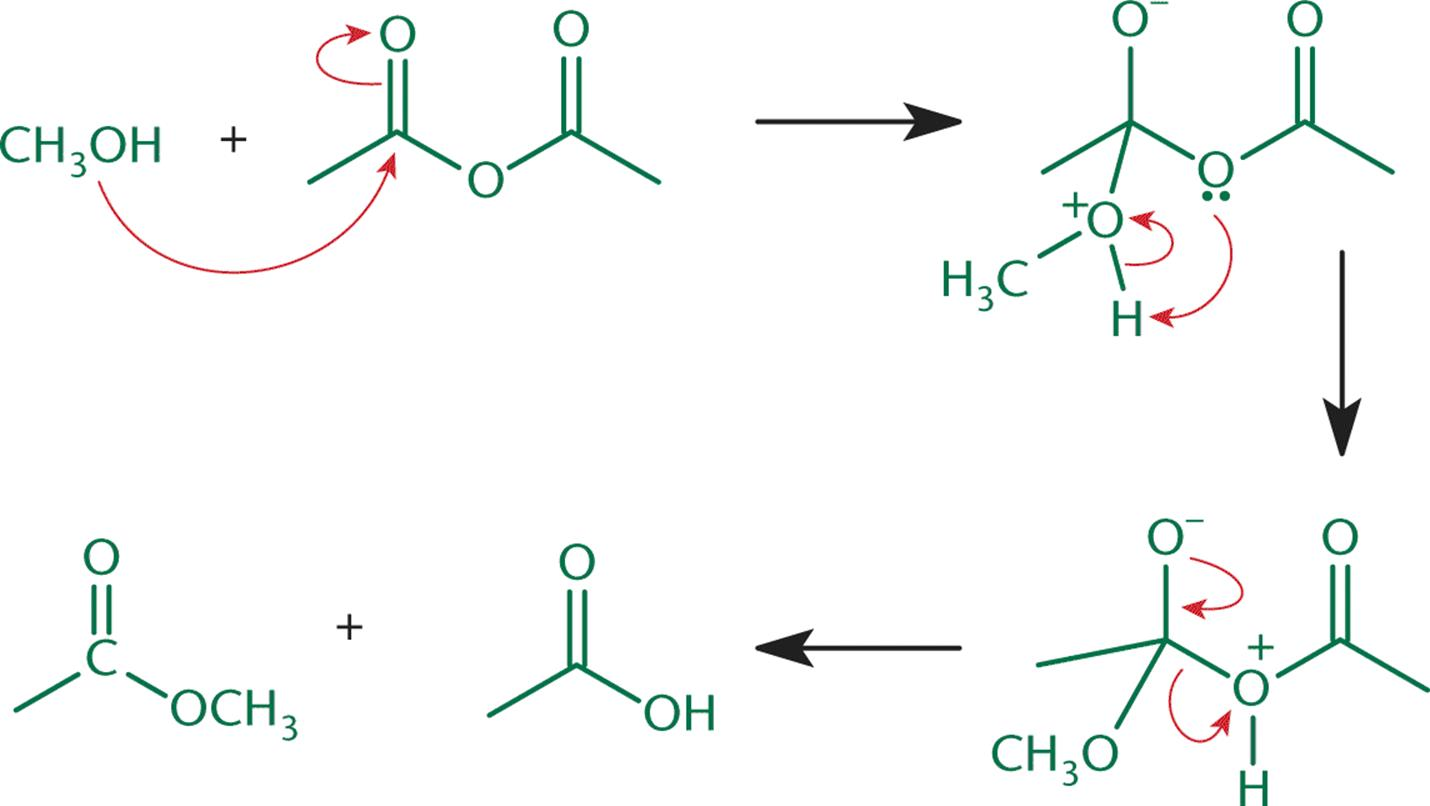 how to make ester nucleophilic
