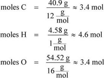 Representation of compounds compounds and stoichiometry first determine the number of moles of each element in the compound by assuming a 100 gram sample this converts the percentage of each element present ccuart Image collections