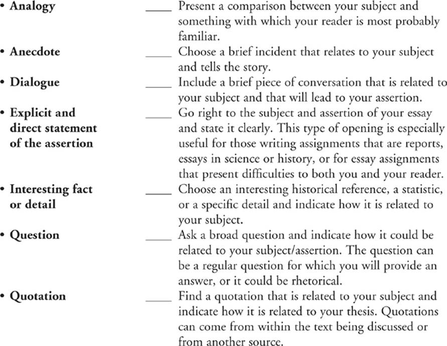 Thesis regulations