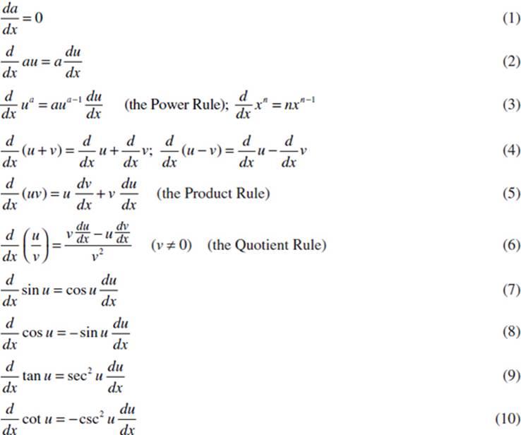 differentiation formulas - photo #19