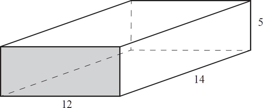 how to find the base area of a rectangular prism