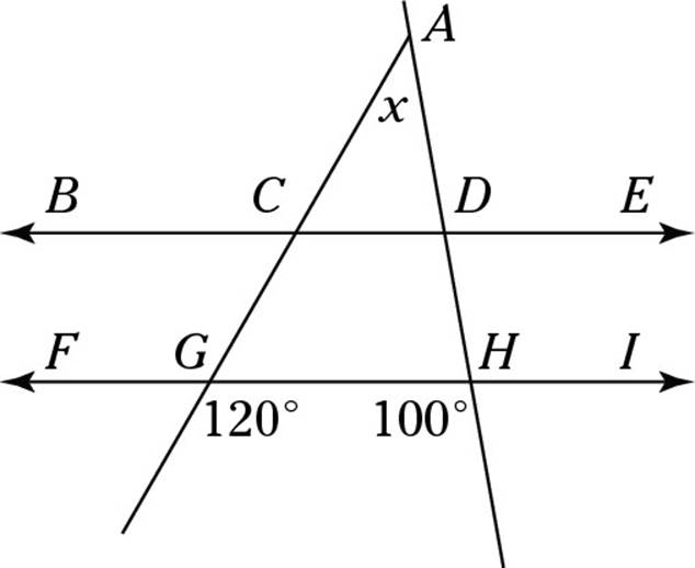 Drawing Parallel Lines With Triangles : Practicing problems in geometry take a number any