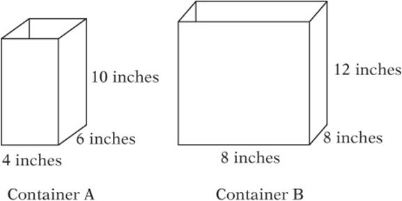 Volumes and 3-D Geometry - ESSENTIAL GEOMETRY SKILLS - SAT Test Prep