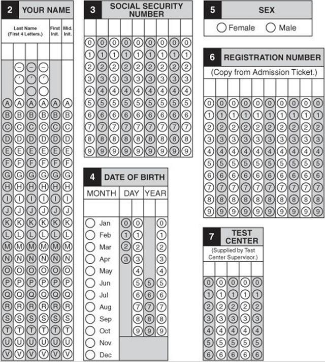 Sat Practice Test Answer Sheet Mersnoforum