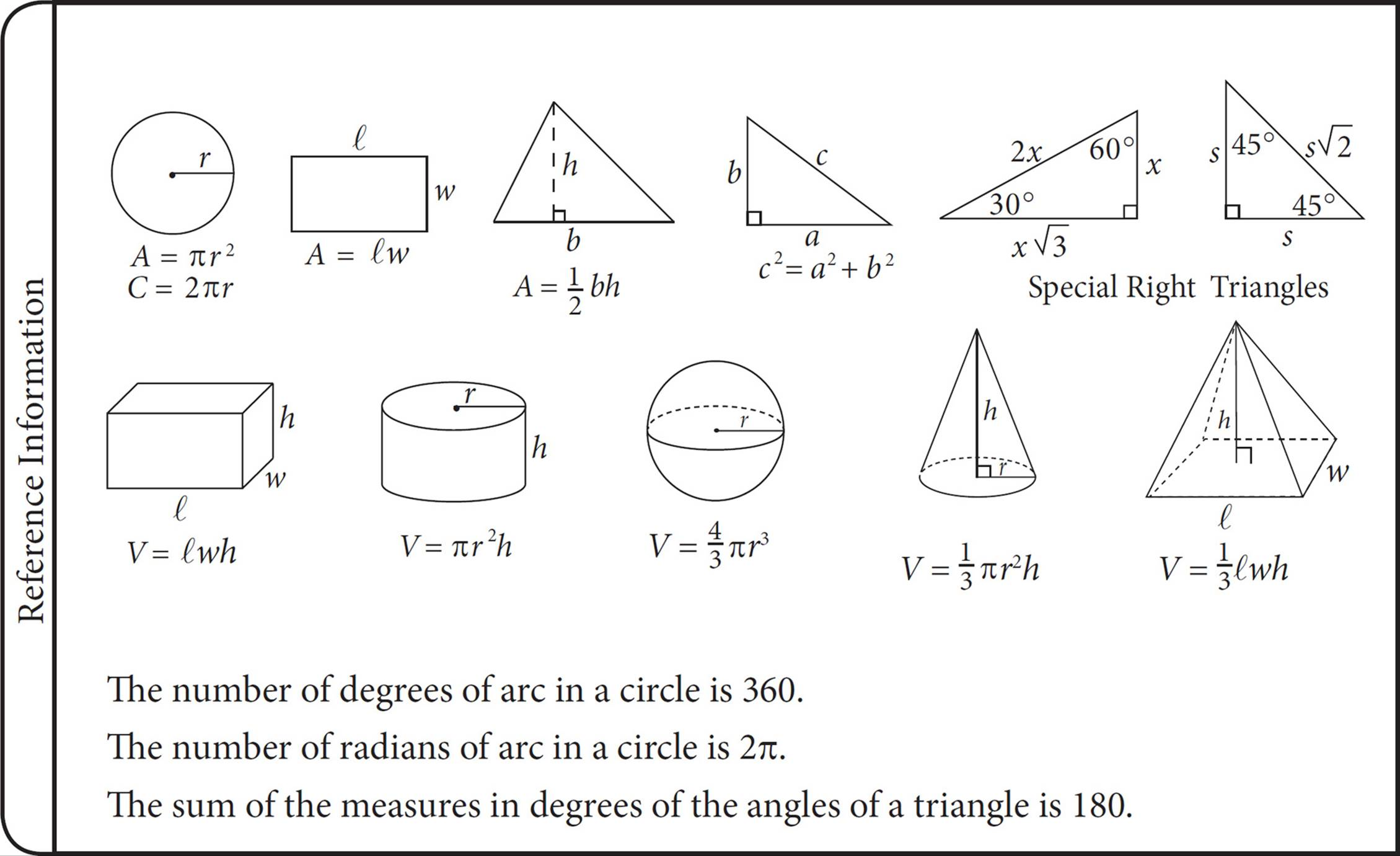 geometry how to crack the math test cracking the new sat this box of information contains some of what you ll need to tackle geometry on the sat in this chapter we ll cover how to approach geometry questions and
