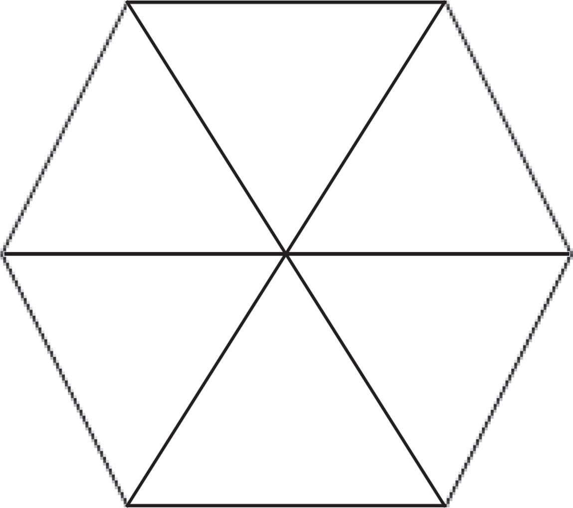 Interior Angles Hexagon